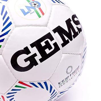 Gems, Balón Vertigo oficial LND Fútbol 5 oficial: Amazon.es ...