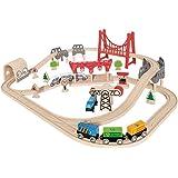 Hape Wooden Railway Double Loop Railway Set