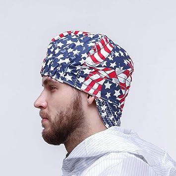 ZPL Sombrero de Soldadura elástico, protección de la Cabeza del Casquillo del Sombrero del paño