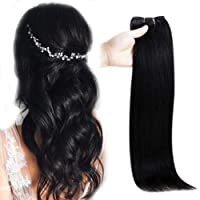 Full Shine Real Hair Halo With Clear Wire 10 Inch Invisible Halo Remy Hair Piece...