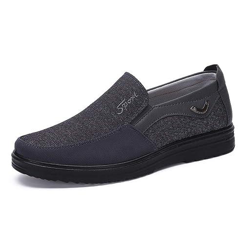 Zapatos Hombre Cuero Mocasines Casual Zapatillas Casa para Centavo Ponerse Conducción Formal Negocios Barco Cómodos Caminar: Amazon.es: Zapatos y ...