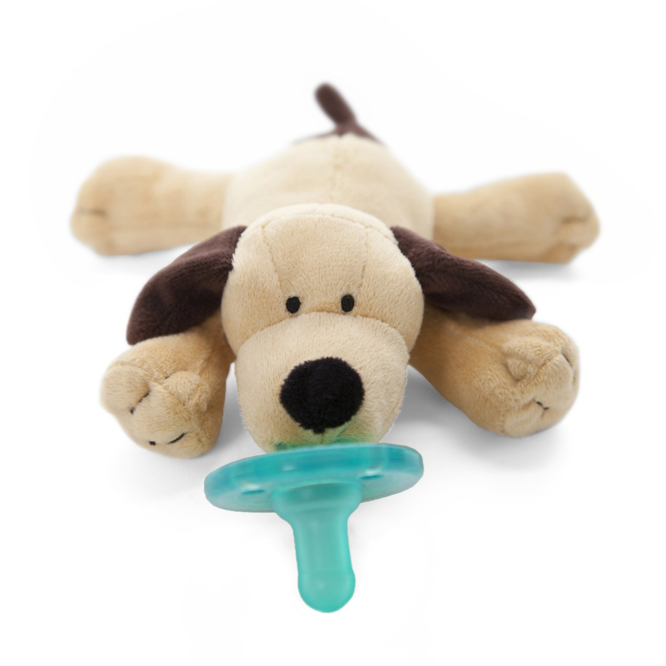 WubbaNub Infant Pacifier - Brown Puppy by WubbaNub (Image #2)