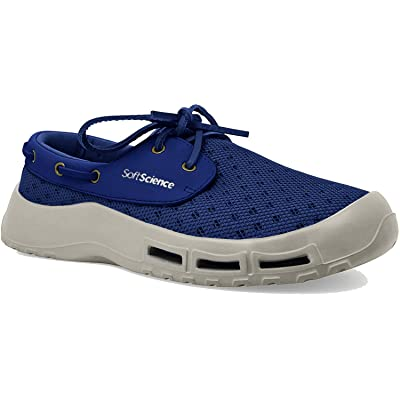 SoftScience Men's The Fin Athletic Boating Shoes: Clothing