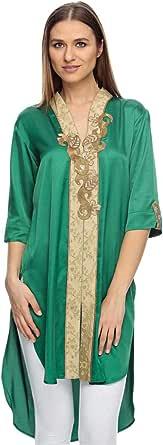 Sana'a Kayum Green Casual Kurta & Churidar Set For Girls
