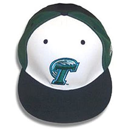 Amazon.com   Tulane Green Wave Fitted Hat 6 3 4 On The Field ... 5753bca807b