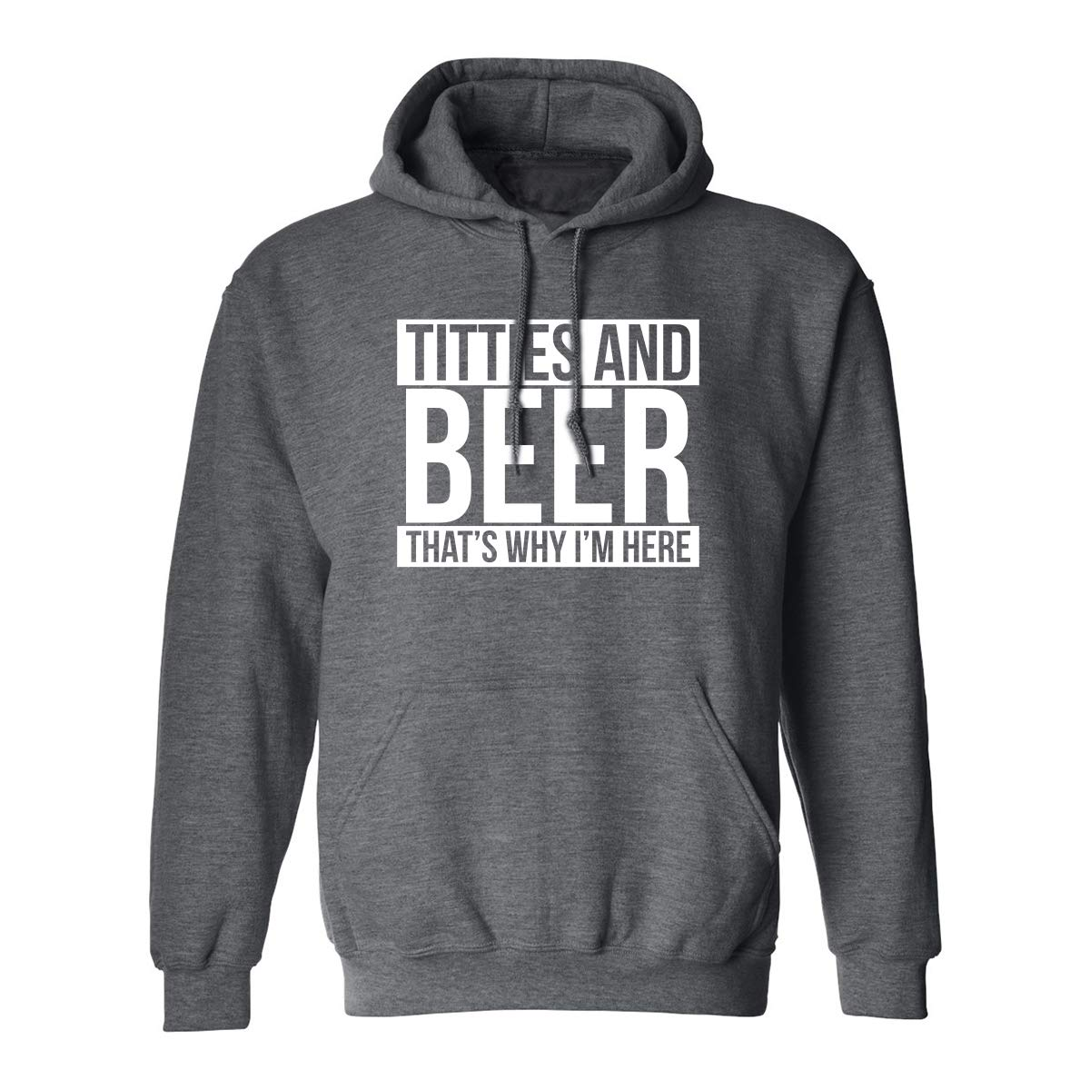 zerogravitee Titties and Beer Adult Hooded Sweatshirt