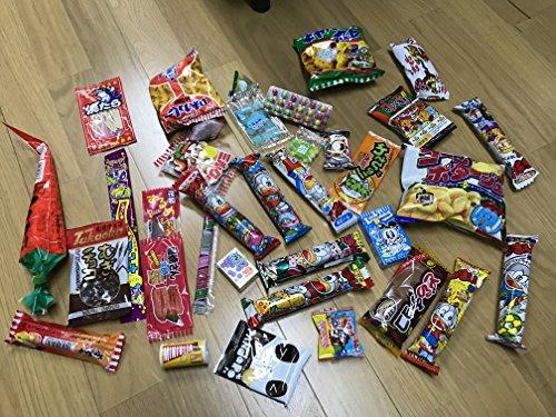 Assorted Japanese Junk Food Snack Dagashi Economical 34