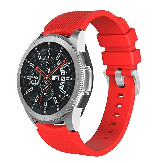 Amazon.com: ANCOOL Compatible Sumsung Gear S3 Silicone Band ...