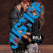 Justice Audiobook by Gillian Zane Narrated by Patrick Garrett, Kya Murphy