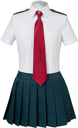 My Hero Academia Boku no Hero Academia Ochako Uraraka Tsuyu Asui Summer Uniform