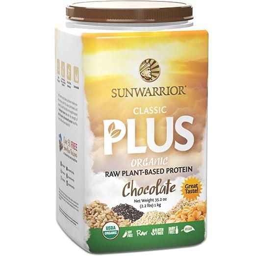 4 opinioni per Sunwarrior-Proteine Vegetali Classic più Cioccolato