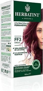 Herbatint Tinte Ciruela FF3-150 gr: Amazon.es: Salud y ...
