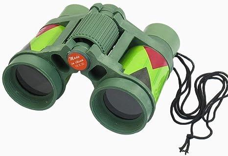 26mm 2.5X Faltbare Kunststoff Fernglas Teleskop mit Umhängeband Kinder