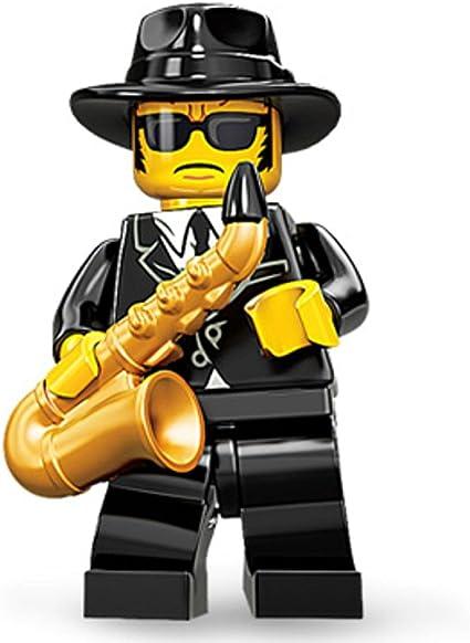 Amazon.com: LEGO Minifigures Series 11, Saxophone Player: Toys & Games