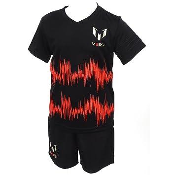 ccb1e19f3b adidas Set Kid s I MM Messi Kit Orange Silver Black Rojsol POLMET ...