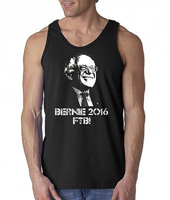 e5c68842813707 Bernie Sanders 2016 FTB! Bernie For President Feel The Bern Mens Tank Top  Small Black
