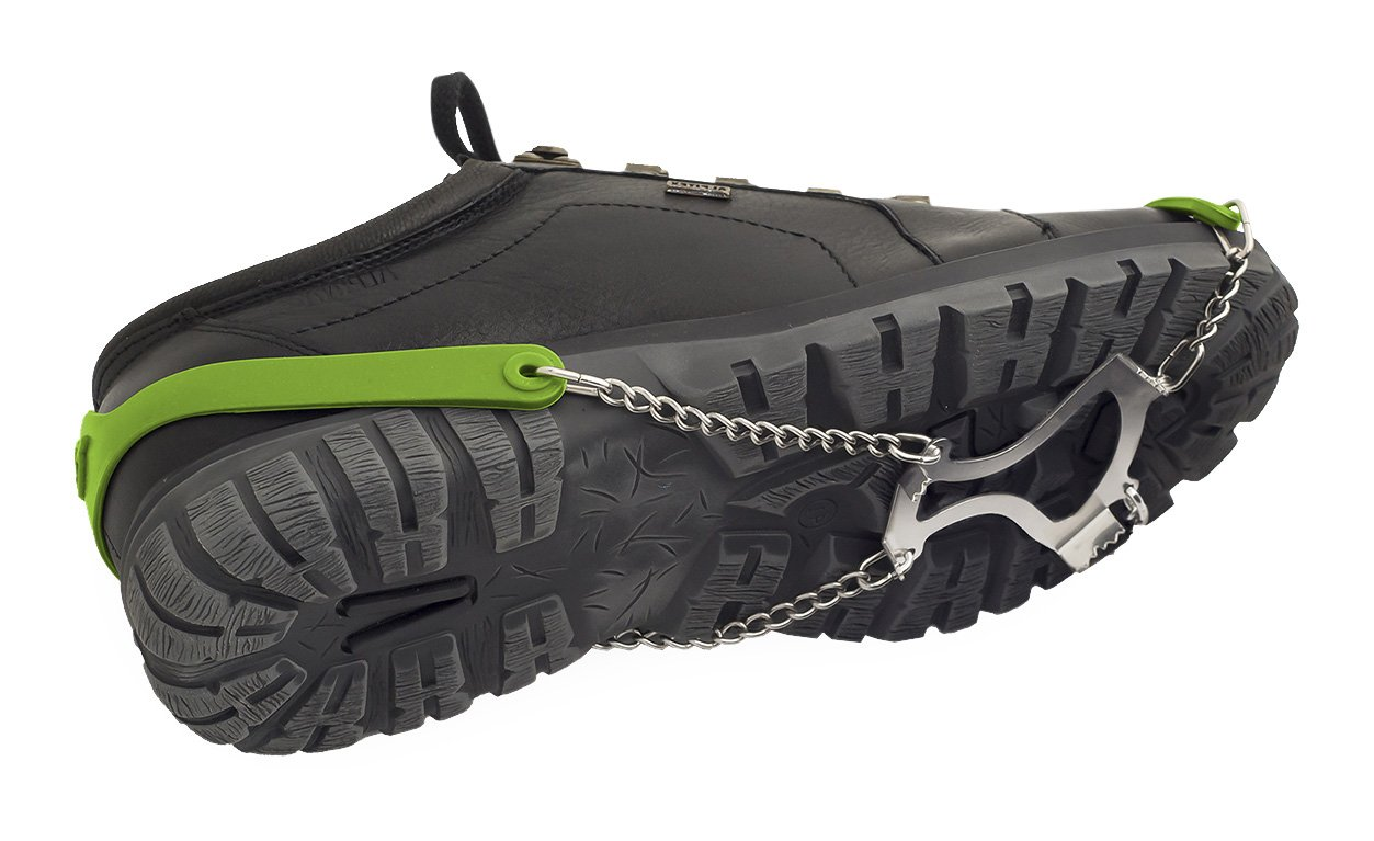 Veriga Gripstep Crampons Ice Traction Cleats, Large (41-47 EU)