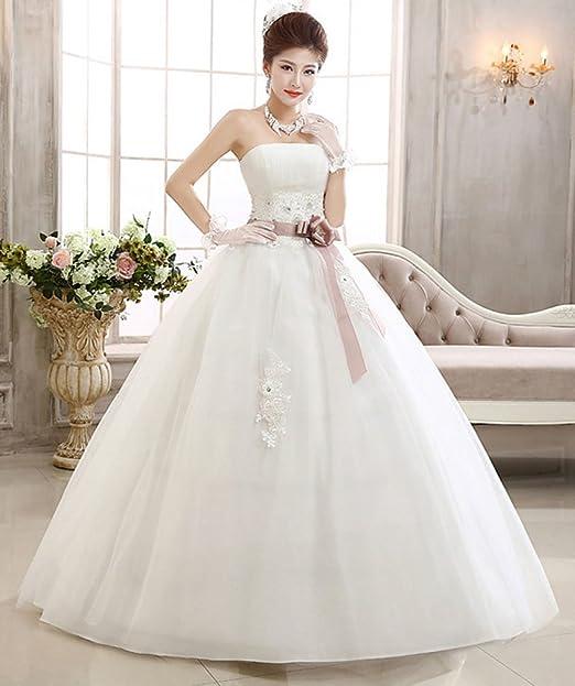 Eyekepper vestido de novia sin tirantes maternidad para embarazadas talla personalizada: Amazon.es: Ropa y accesorios