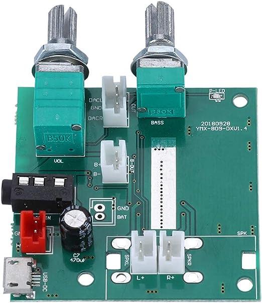 Bluetooth Verstärker Platine 20w Dc 5v 2 1 Kanal Stereo Elektronik