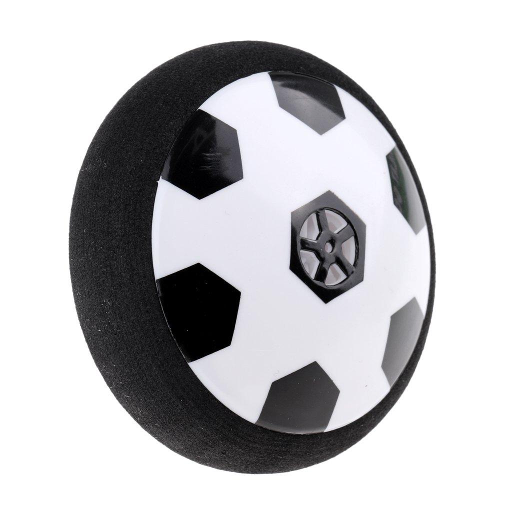 monkeyjackキッズ子供LED HoverボールソフトフォームバンパーフローティングGlidingインドアHover Soccer Footballスポーツゲーム玩具ギフト19 cm / 9 cm B0792Q2BKT 19cm