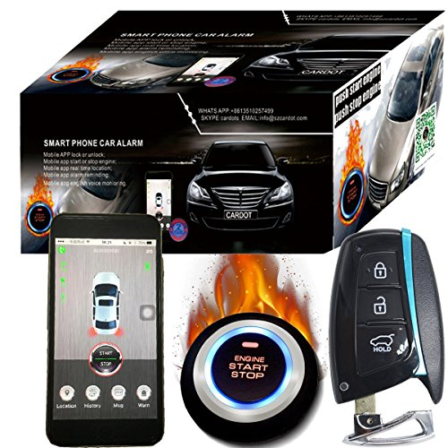 Cardot Gsm Car Alarm Security System Gps Gsm Keyless Engine Start Stop Button Gps Online Tracking System Brand Wholesale Support by Cardot