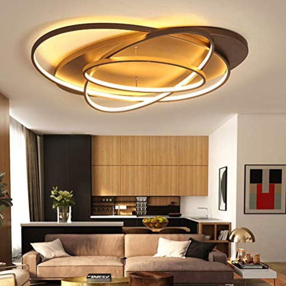 Lampada a led moderna creativa anelli per soffitto per ...