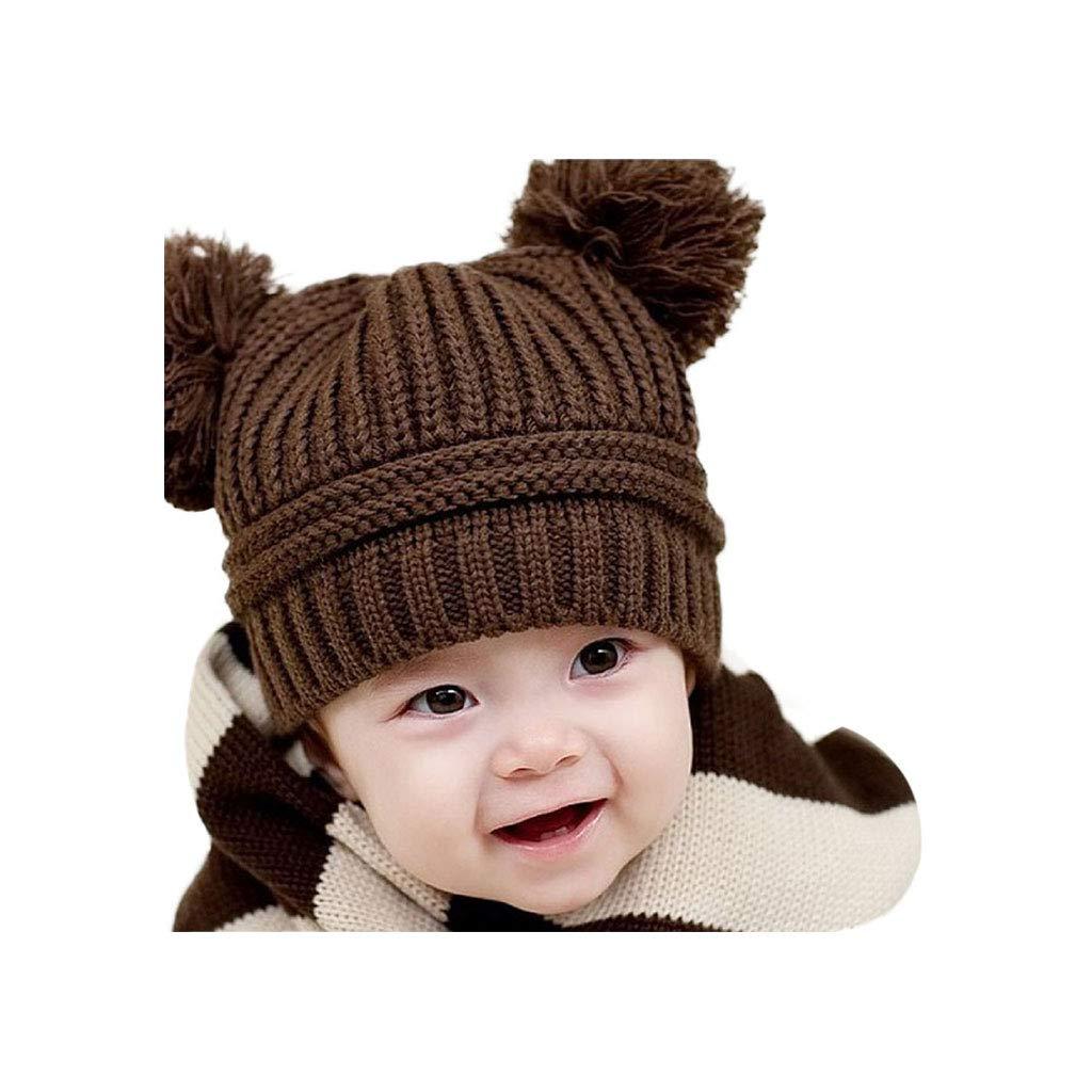 Toddler Hat Baby Boy Girl Kid Newborn Winter Warm Baseball Cap Beanie TM Elevin