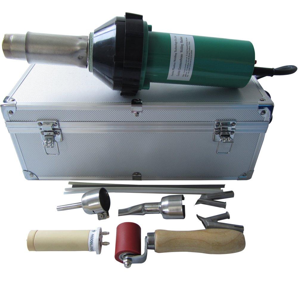 110V or 220V 1600w Plastic Welder Gun +speed nozzle heat element Hot Air Gun Hot Air Welding Torch