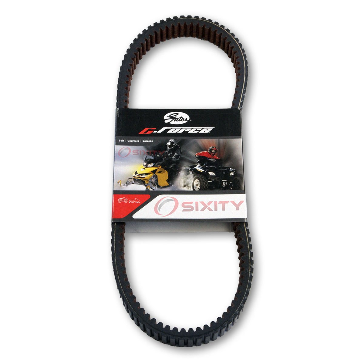 Gates Drive Belt 2013 Polaris Ranger RZR XP 900 HO Jagged X Edition G-Force CVT Heavy Duty OEM Upgrade