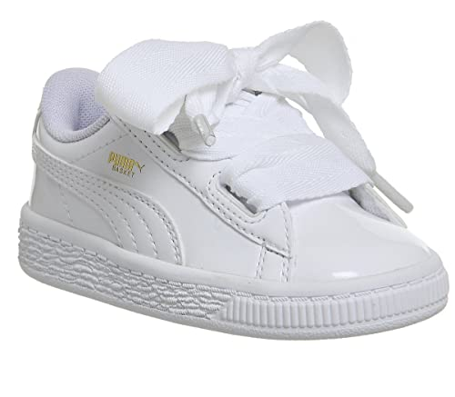 stringhe puma basket heart