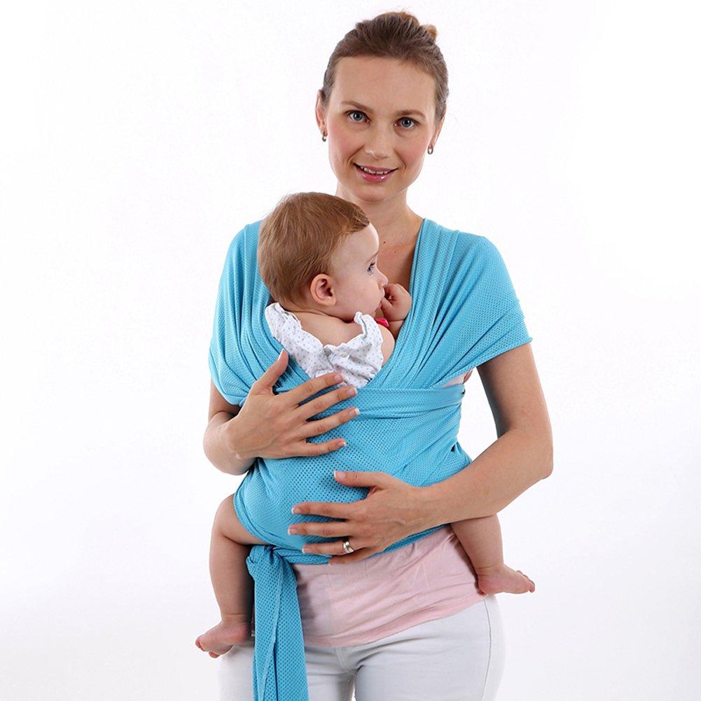 Porte-bébé élastique enfant Porte-bébé Ventral Baby Wrap Baby Porter pour nouveau-né et bébé MHMING