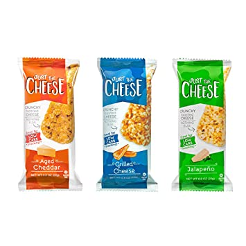 just the cheese bars crunchy baked low carb snack bars 100 rh amazon com just cheese bars just cheese sandwich