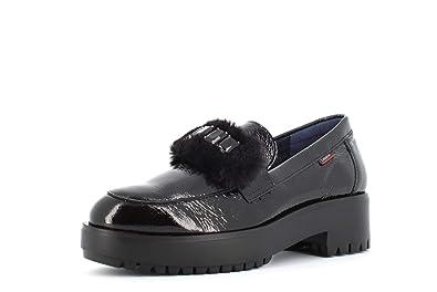 CallagHan Schuhe Frau Mokassin 25302 SCHWARZ Größe 37