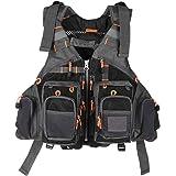 Lixada Fly Fishing Vest Breathable Padded Superior 209lb Bearing Safety Jacket