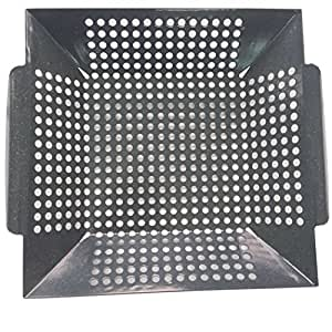 Grill Valueparts REV038RGP Vegetable Grill Basket for Weber, Charbroil, Kenmore, Coleman, Backyard, Master Forge, Perfect Flame, Uniflame Grills.