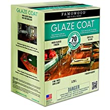 FAMOWOOD 5050210 Clear Glaze Coat Epoxy Kit 3.78 L
