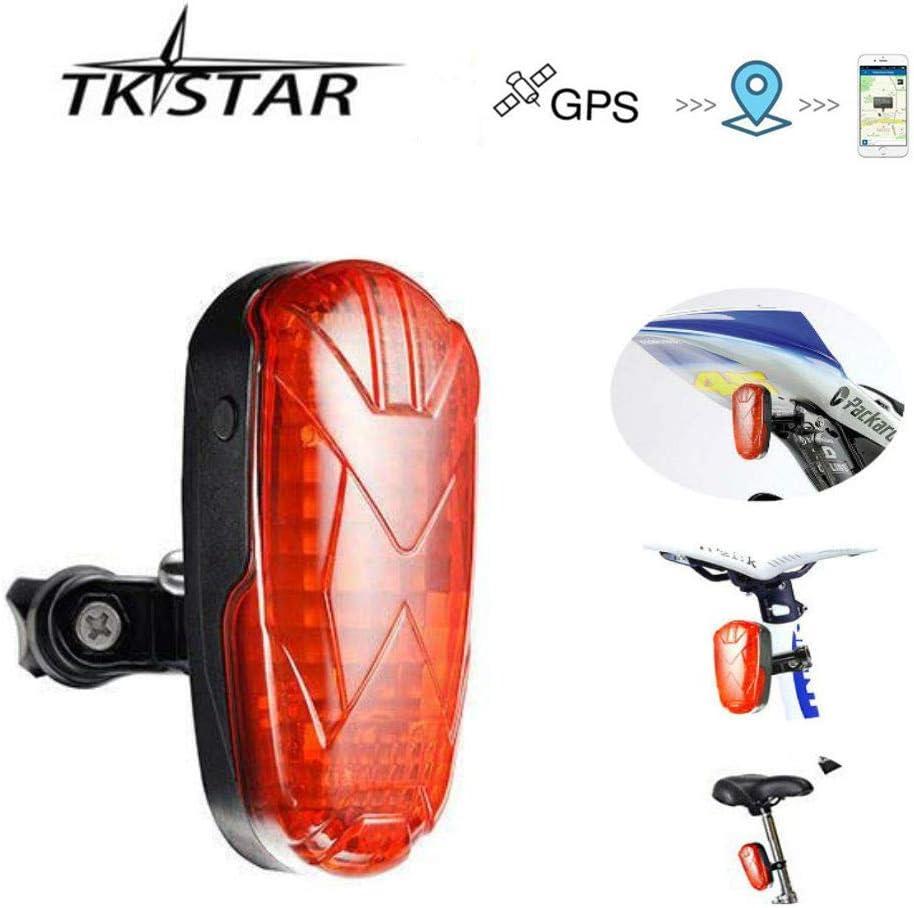 TKSTAR bike light and gps tracking unit