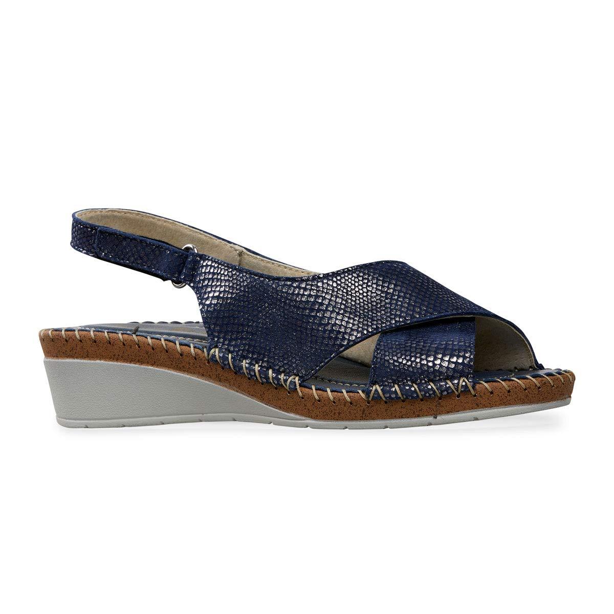 2c6a91af41a Van Dal Womens Faversham Wide E Fit Wedge Sandals