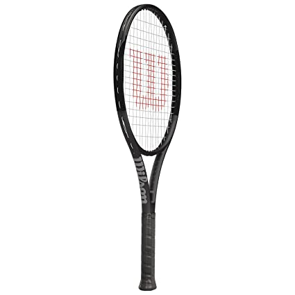 Wilson Pro Staff >> Amazon Com Wilson Pro Staff 25 Junior Tennis Racquet Black