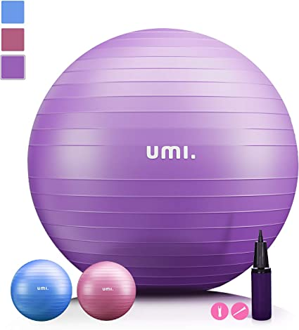UMI. by Amazon -Pelota de Ejercicio Gym Ball para Fitness, Yoga ...