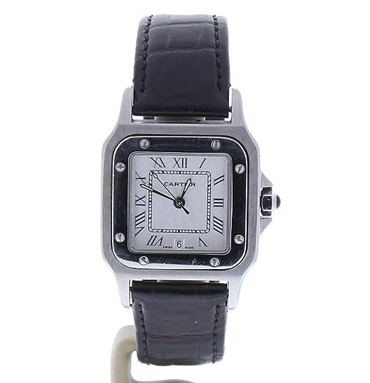 Cartier Santos Octagon Automatic-Self-Wind Womens Watch 987901 (Certificado) de Segunda Mano: Cartier: Amazon.es: Relojes