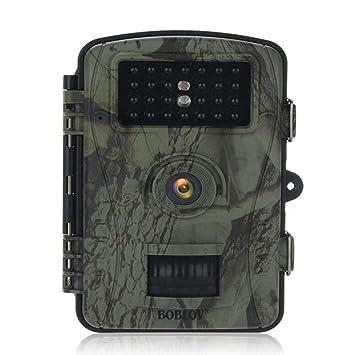 JUILARY-Cameras Trail Vigilancia Cámara 12 Millones Alta Definición Píxeles Infrarrojos Visión Nocturna Impermeable Detección De Movimiento Al Aire Libre ...