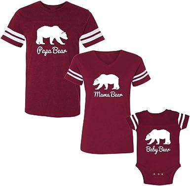 Mama Bear and Baby Bear T-Shirt Set