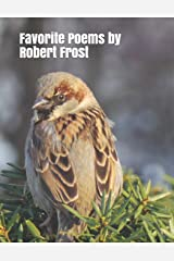 Favorite Poems by Robert Frost: Extra-large print senior reader book with discussion activities & coloring sheets Paperback