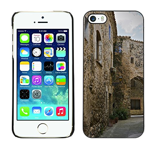Premio Sottile Slim Cassa Custodia Case Cover Shell // F00030741 ancienne ville // Apple iPhone 5 5S 5G