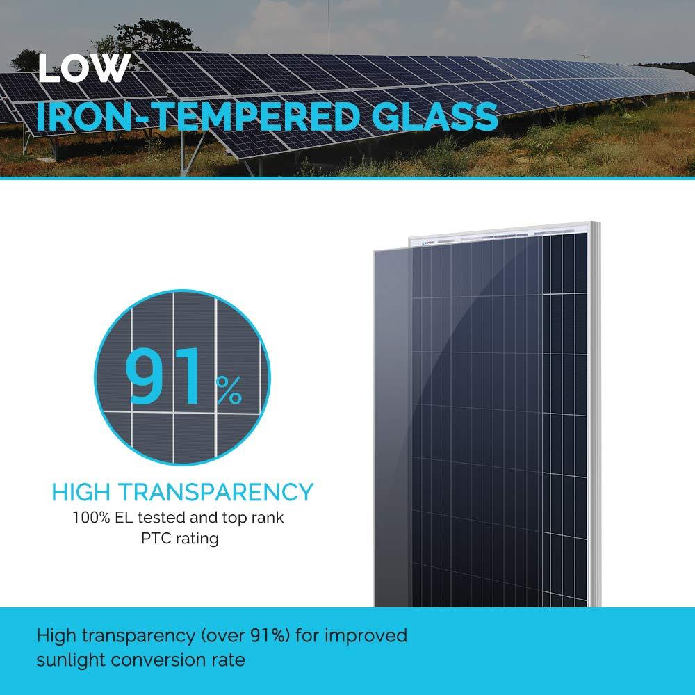 Renogy 100 Watt 12 Volt Monocrystalline Solar Panel (New Edition), Design by Renogy (Image #2)