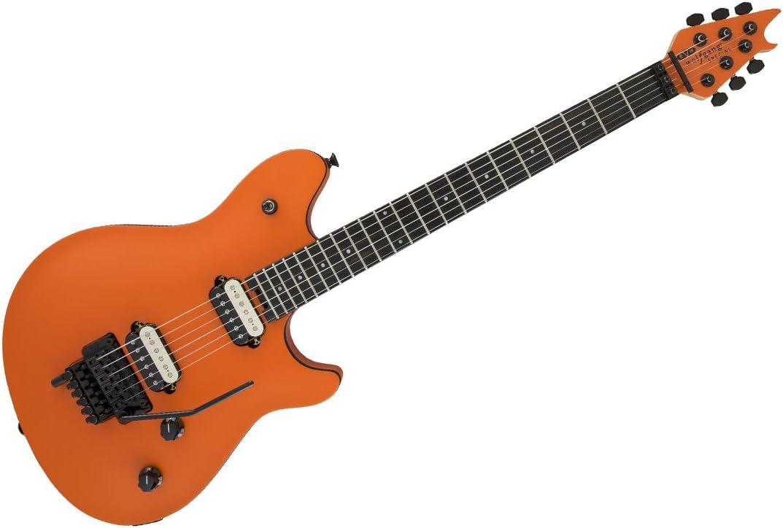 EVH Wolfgang especial guitarra eléctrica (naranja Crush, diapasón ...