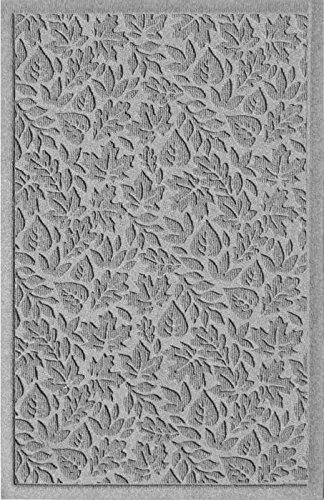 American Floor Mats Waterhog Fall Day Designer Medium Grey 4' x 6' Entrance Floor Mat with Gripper Backing (Rectangle Mat Entrance Waterhog)