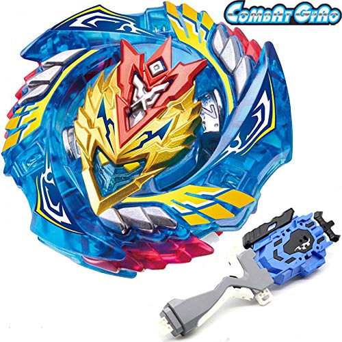 Cool Valkyrie - Bey Battle Burst God Evolution Blade LR String Launcher Starter Booster B-127 Cho-Z Valkyrie. Z.Ev Game Toy Bey Set Battling Top Novelty Spinning Toys Gift for Boys Kids Teens