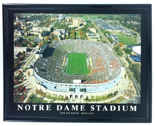 Notre Dame Stadium South Bend Indiana Aerial Print Wall Art F7539A